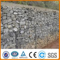 2014 hot sale gabion retaining wall/welded gabion wall building/galvanized gabion box Manufactures