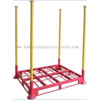 Heavy Duty Portable Steel Stack Rack Used In Warehouse Space Saving Manufactures