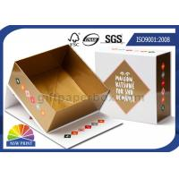 Hinged Lid Cardboard Presentation Box , Bespoke Printed Luxury Gift Packaging Boxes Manufactures