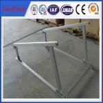 aluminium extruded profile aluminum alloy frame solar system, solar aluminium profiles Manufactures