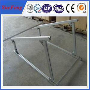 Quality aluminium extruded profile aluminum alloy frame solar system, solar aluminium for sale