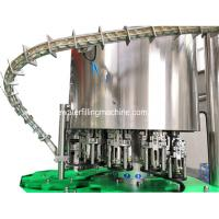 Buy cheap 3 In1 Bottle Filling Machine / Soda Water Line Isobaric Beer Washing Filling from wholesalers