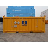 20 Foot Metal Shipping Containers , Storage Container With Side Doors Industrial for sale