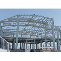 Two Story Steel Building Construction , Lightweight Steel Storage Building Kits