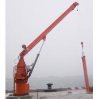 Jib crane is liquid petrochemical wharf project, this fixed hydraulic explosion- proof crane 0.5T to 3T Manufactures