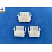 4.20mm Pitch Single Row Power Connectors Mini-Fit Plug Housing with Panel Mounting Lock Manufactures