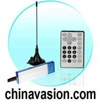 China DVB-T Digital TV Tuner for Computers - USB Dongle + Antenna on sale