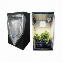 China Reflective Hydroponics Mylar Grow Room Tent with Built-in Heavy-duty Zippers and Hook on sale