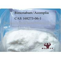 99% Assay Strongest Fat Burning Steroid Acomplia Rimonabant White Powder 168273-06-1 Manufactures