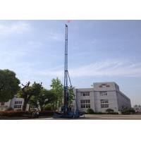 XPG-65 long mast jet grouting drilling rig single double triple jet grouting drilling rig