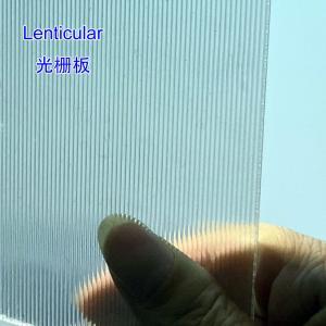 30LPI lens plastic lenticular for Inkjet Printing 3D lenticular billboard printing and large size 3d print by injekt Manufactures
