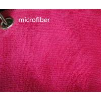 Microfiber 260gsm Green Colorful 150cm Width  Terry fabric Car Glass Cleaning Cloth Manufactures