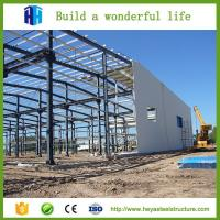 China Ready made steel structural multi-storey steel warehouse plans on sale