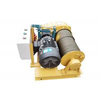 20T Industrial Mechanical Electric Lifting Winch With Failsafe Brake Manufactures