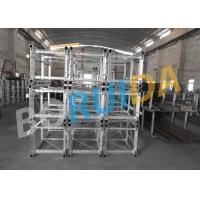 Passenger and Goods Construction Material Hoist Double Cage SC200 / 200 Manufactures