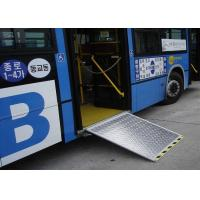 12V or 24V Dimension Customized Electric Aluminum Bus Wheel chair Ramp Manufactures
