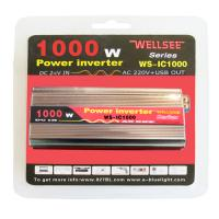 Portable WELLSEE WS-IC1000 power inverter dc/ac 12v 220v Manufactures