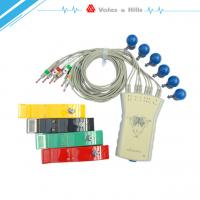 Gray 12 Lead Mall Size PC Based Computer ECG Medical Device PC ECG Machine Manufactures