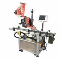 Automatic Food Packaging Labelling Machine / Card Sticker Maker Machine Electric Driven Manufactures