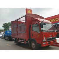 4x2 Stake Light Duty Trucks For Animal Transport 84HP Engine 6 Wheels Manufactures