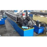 China Roller Concrete Door Frame Roll Forming Machine / Aluminum Metal Window Frame Making Machine on sale