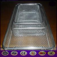 China A wide variety of machining OEM , stainless steel wire sterilization basket Manufactures