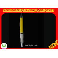 Flashlight pen with led light logo image projection various design Manufactures