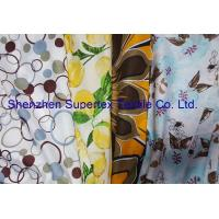 Reactive Print Custom Cotton Fabric / Custom Printed Cloth 72GSM Manufactures