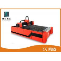 500W 1000W 2000W Metal Fiber Laser Cutting Machine With RD Control System Manufactures