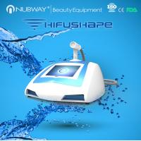 new arrival!! NUBWAY body slimming ultrasound portable machine HIFUSHAPE for sale Manufactures