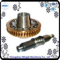 Differential Stainless Copper Worm Helical Gear Transmission For Micro Tractor Manufactures