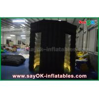 Oxford Cloth Wedding Decoration Inflatable Arc Photo Booth  Cube with Two Doors Manufactures