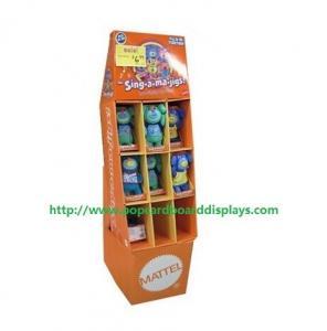 China Corrugated Electron Smoke Pop Cardboard Display Eco-Friendly on sale