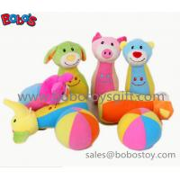7 Plush Baby Farm Friend Bowling Ball Toy  Stuffed Animal Style Kids Bowling Ball Toy Manufactures