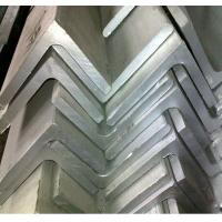 Equal and Unequal 304 Stainless Steel Angle Bar / Bars With Mill Finish For Architecture, Engineering Structure Manufactures