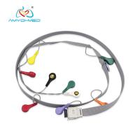 Buy cheap Snap ECG Cable With 10 Lead Leadwires For Patient Monitor IEC from wholesalers