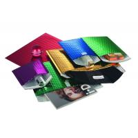 Low MOQ self-adhesive shiny metallic foil glamour custom printed foil padded envelopes Manufactures