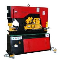High Efficiency Metal Iron Worker Hydraulic Ironworkers With Double Cylinder Manufactures