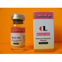 China Bold 200 Boldenones Undecylenate Bodybuilding Steroids Injection on sale