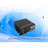 4CH cvi media fiber converter for coaxial and ip camera hybrid application Manufactures