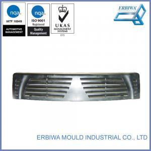 Plastic Car Spare Part Custom Injection Molding Black Exterior Trim Parts Manufactures