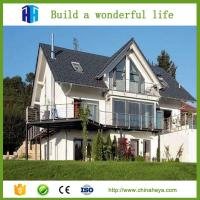 canadian easy assemble modern two bedroom prefabricated wood house Manufactures