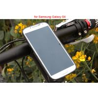 Adjustable Bicycle Mount Holder , iPhone Samsung Clamp Universal Mobile Phone Holder Manufactures