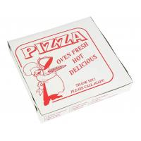 China Custom Pizza Box Packaging Corrugated Paper Materials on sale