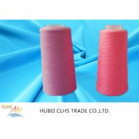 High Strength Ring Twist Dyed Polyester Yarn Smooth Surface Well Sewing Performance Manufactures