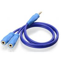 3.5mm Stereo Male to Female Aux Audio Cable Manufactures