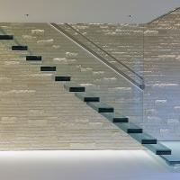 Buy cheap Glass Staircase / Build Floating Stair/ Wooden stair from wholesalers