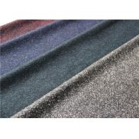 Scarf Herringbone Knitted Terry Cloth Fabric 50% Wool 620 G / M Dry Cleaning Manufactures