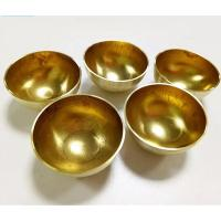China Hollow Copper Half Sphere / 35MM 42MM Sphere Hollow Half Ball Electric Conductivity on sale