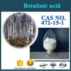 China Factory Supply Best Quality Antioxidant birch bark extract CAS NO.472-15-1 Betulinic acid wholesale